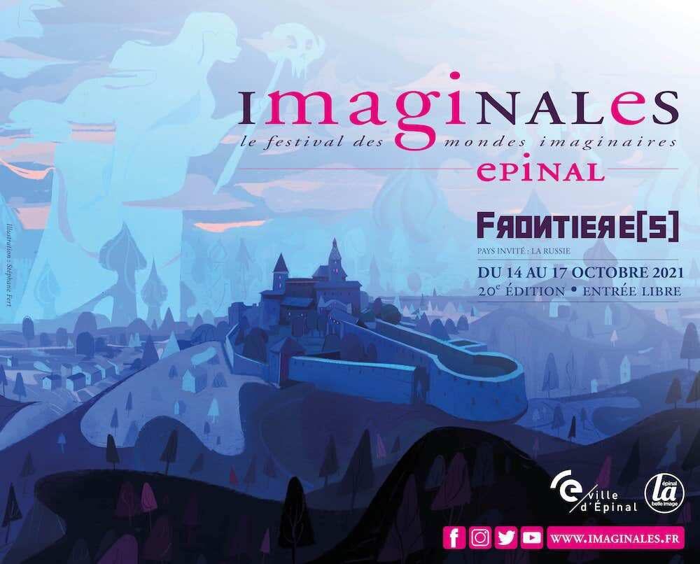 Affiche Officielle IMAGINALES 2021